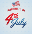 Independence day American Backgrounds vector image vector image