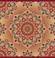 oriental colorful ornament vector image vector image