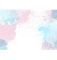 pastel watercolour texture background vector image vector image