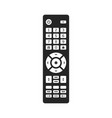 remote tv control vector image