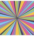 retro psychedelic background bright colorful flash vector image vector image