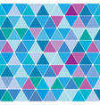 winter triangle pattern 26 vector image vector image