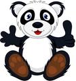 bapanda with thumb up vector image