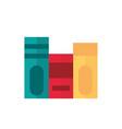 books literature school and education icon vector image