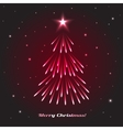 Christmas Tree Holidays vector image vector image