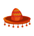 cinco de mayo traditional hat vector image