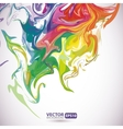 Colorful stains of paint abstract background vector image vector image
