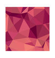 Deep Cerise Purple Abstract Low Polygon Background vector image vector image