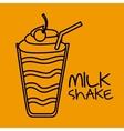 delicious drink design vector image