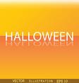 Halloween icon symbol Flat modern web design with vector image