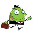 Jolly Green Monster vector image vector image