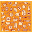 Kitchen And Cooking Doodle Set vector image vector image