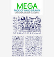 Mega collection of hand drawn business