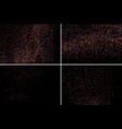 set design element colorful explosion of confetti vector image vector image