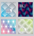 template for covers placards posters flyers and vector image