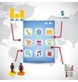 wallpaper infographic mobile apps design