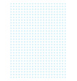 blue full page centimeter dot paper vector image vector image