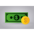 Business and money design vector image vector image