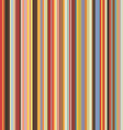 colored vertical stripes seamless pattern vector image vector image