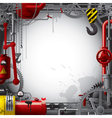 Engineering background vector image vector image