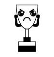 Figure kawaii cute angry prize cup