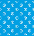 make money pattern seamless blue vector image