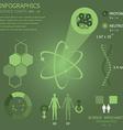 Science Infocharts vector image