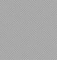 simplistic optical seamless pattern monochrome vector image vector image
