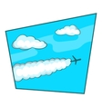 Sky icon cartoon style vector image