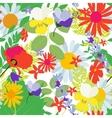Abstract Natural Spring Seamless Pattern vector image vector image