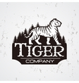 Bengal Tiger in forest logo Mascot shirt