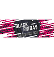 black friday special offer vector image vector image