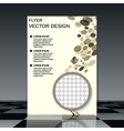Business flyer template vector image vector image