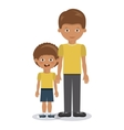 family members design vector image