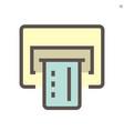 finance and banking iconfinance and banking icon vector image vector image