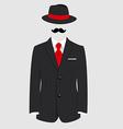 Gentleman concept vector image vector image