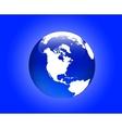 globe america vector image vector image