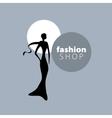 logo girls vector image