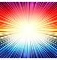 Rainbow radial stripes burst explosion background