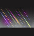 abstract bright background with moving light rays vector image vector image
