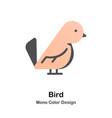 Bird mono color icon