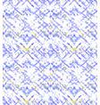 Blue yellow grunge openwork pattern vector image