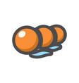 buoy swimming pool restraints cartoon vector image