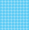 diagonal blue seamless fabric texture pattern vector image vector image