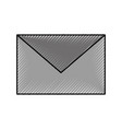 email envelope message chat communication icon vector image