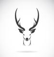 image of an deer head design vector image vector image