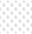men inside gear wheel icon outline style vector image vector image