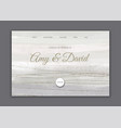 minimal hand painted wedding landing page vector image vector image