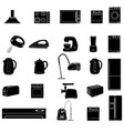 household icon home appliances icon vector image