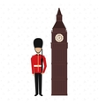 city of London design vector image vector image